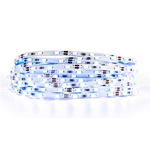 BTF-LIGHTING ICE BLAU Licht Ultra Bright Flexible 3014 LED Streifen Extrem Schmal 3,0 mm PCB SMD3014 90LED / m DC12V 5m 450LED 45W IP30 LED Licht band