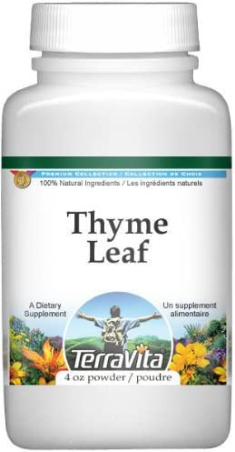 Thyme Leaf Powder New product! New type 4 oz ZIN: Be super welcome 511122