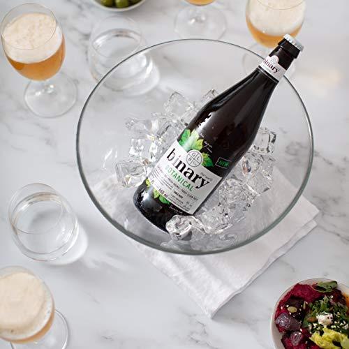 BINARY BOTANICAL - Award winning wine-lovers beer. Tangy, aromatic & brewed for food. Vegan | Gluten Free | 4 x 660ml 4% abv