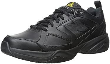 New Balance Men's Slip Resistant 626 V2 Industrial Shoe, Black, 10