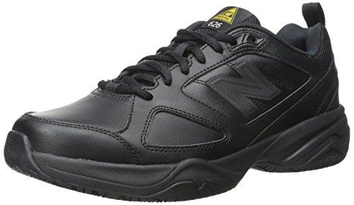 New Balance Men s Slip Resistant 626 V2 Industrial Shoe  Black  9.5 X-Wide