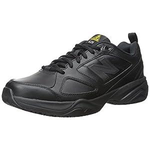 New Balance Men's Slip Resistant 626 V2 Industrial Shoe, Black, 9
