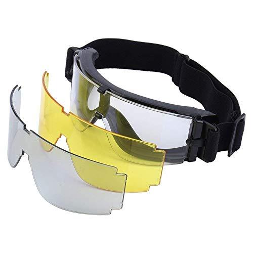 Yosoo Gafas Tácticas X800 Goggle Gx1000, con 3 Lentes para...