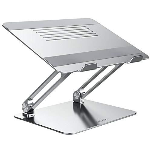 Nillkin Supporto per Laptop, Portatile Regolabile in Alluminio Supporto per Laptop, Supporto per Notebook con Design Ergonomico per 11-17 Pollici Notebook, MacBook PRO, Air, Lenovo, Tablet e Laptop