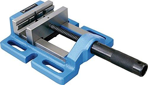 Unbekannt Maschinenschraubstock für Tisch- und Ständerbohrmaschinen | Abmessung LxBxH (mm): 220 x 180 x 63 | Ausführung: Schlitzabstand Mitte/Mitte 150 mm | Backen-Breite (mm): 120