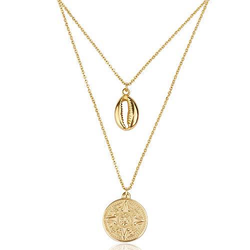 Good Designs Muschel Halskette für Damen