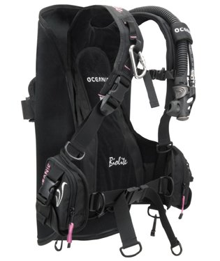 OCEANIC BIOLITE LADIES TRAVEL BC/BCD ULTRA LIGHTWEIGHT WEIGHT INTEGRATED BUOYANCY COMPENSATOR (Medium)