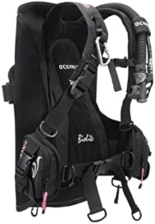OCEANIC BIOLITE LADIES TRAVEL BC/BCD ULTRA LIGHTWEIGHT WEIGHT INTEGRATED BUOYANCY COMPENSATOR