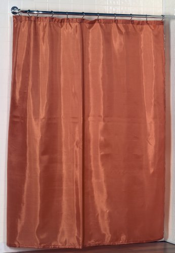 Carnation Home Fashions Fabric Shower Curtain Liner
