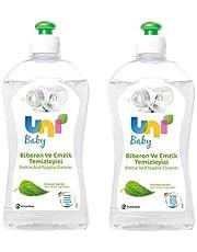 Uni Baby 500 ml Biberon ve Emzik Temizleyici x 2 Adet