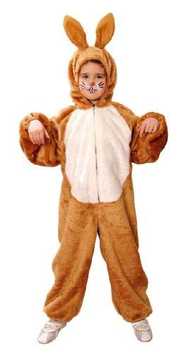 Orlob Hase Kinder Kostüm Hasenkostüm braun zu Karneval Fasching Gr.140/152