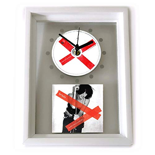 TEXAS - Careful What You Wish For: GERAHMTE CD-WANDUHR/Exklusives Design