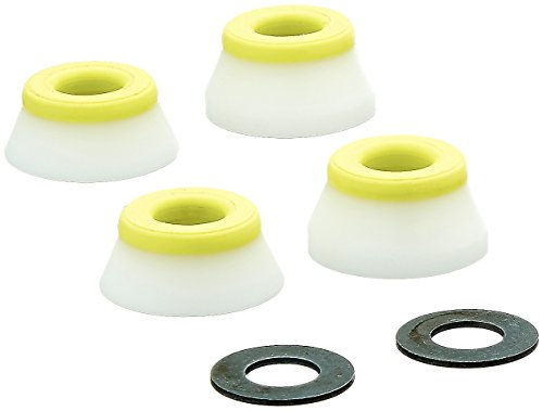 Bones Wheels 91A Hardcore M Set Pack inklusive Washer Lenkgummi, White