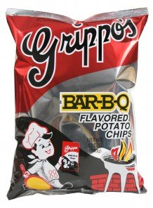 Grippo's BBQ Potato Chips (9 - 12oz Bags)