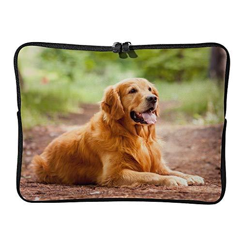 5 tamaños Golden Retriever Perro Portátil, Moderno, Duradero, para los amantes de las mascotas, fundas para tabletas, adecuadas para viajes de negocios