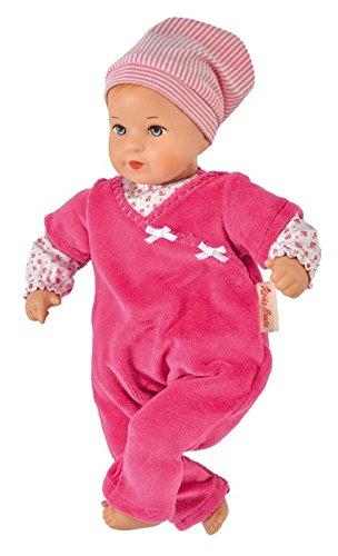 Käthe Kruse 136551 Baby-Puppe Mini Bambina Lisa mit weichem Körper Pink