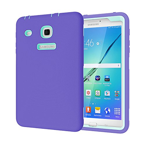 Beimu For Galaxy TAB E 8.0 Case,3 in 1 Hybrid Armor Defender Protection Cover for Samsung Galaxy TAB E 8.0 inch SM-T377A/P/R/T/V Verizon/Sprint/US Cellular/AT&T/T-Mobile 8-Inch Tablet