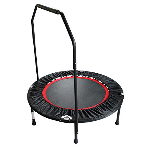 WyaengHai Fitness trampoline Gemakkelijk te demonteren PP Net Sterk Slijtvast Fitness Trampoline Fitness Apparatuur Bungee Bed 8 Jaar Oud Of Ouder Familie aerobics voor gebruik binnen