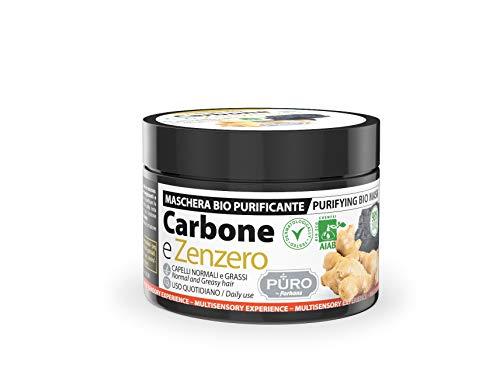 Forhans Maschera Per Capelli Bio Al Carbone E Zenzero - 250 Ml