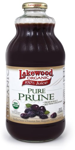 Lakewood Organic 100% Juice Pure Prune (1 X 32 FL OZ)