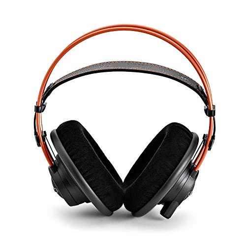 LHYXRJ Casque de Jeu Filaire pour Ordinateur, Casque Audio Professionnel avec Enregistrement de la tête monté sur la tête, Cache-Oreilles en Coton à mémoire