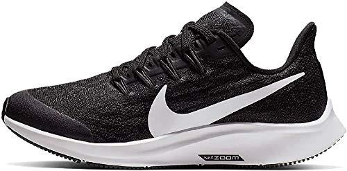 Nike Air Zoom Pegasus 36 (GS), Zapatillas de Correr, Negro (Black/White/Thunder Grey 001), 37.5 EU