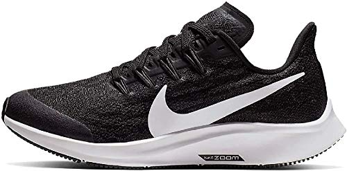 Nike Air Zoom Pegasus 36 (GS), Scarpe da Corsa, Nero (Black/White/Thunder Grey 001), 33 EU