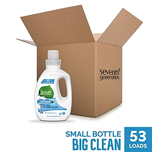 Seventh Generation Concentrated Laundry Detergent, Free & Clear - 3 Count (3 Count)