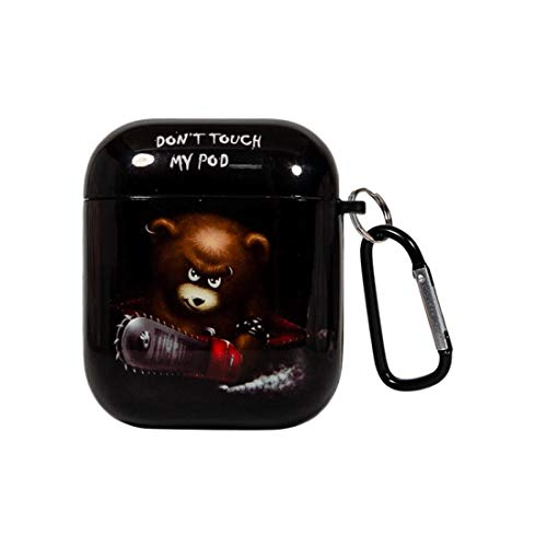 Airpods Case Don T Touch My Pod Hard Pc Protective Skin Airpod