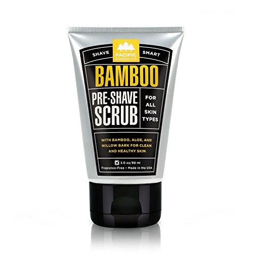 Pacific Shaving Company Bamboo Pre-Shave Scrub
