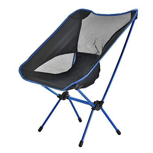 FGGTMO Chaise de Camping, Highlander Pliant extérieur Sit Mat léger rembourré Portable, Idéal for extérieur, Pêche, Festival, Plage, Sac Carry Voyage (Color : D, Size : 58 * 50 * 63CM)