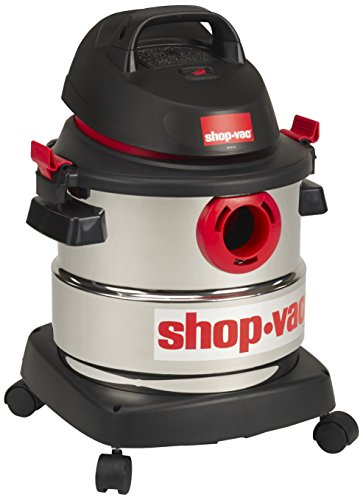 Shop-Vac 5989300 5-Gallon 4.5 Peak HP Stainless Steel Wet...