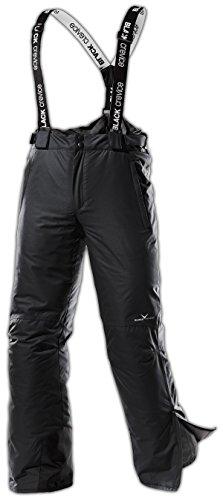 Black Crevice Herren Skihose, Snowboardhose, schwarz, Gr. 52