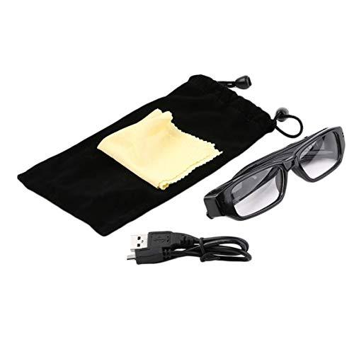Heaviesk Mini 1080P HD Videokamera Brille Eyewear DVR Videorecorder Cam Camcorder für Outdoor-Sportarten Wandern Kamera