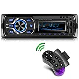 KYG Autoradio Bluetooth Stereo con RDS Supporta FM/AM/USB/AUX/MP3/WMA/WAV/SD, Display LCD, Capacità...