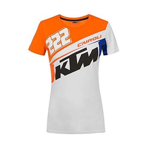 Vr46 Cairoli-KTM, Tshirt Donna, Arancione, Xl