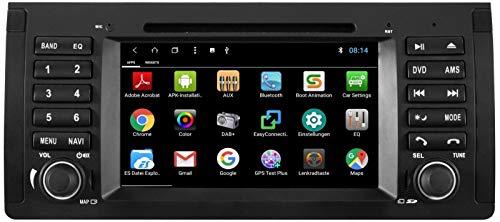 ESX VN715-E39-DAB - Navigation mit DAB/Bluetooth/TMC/USB/DVD / 3D für BMW 5er E39, X5 E53