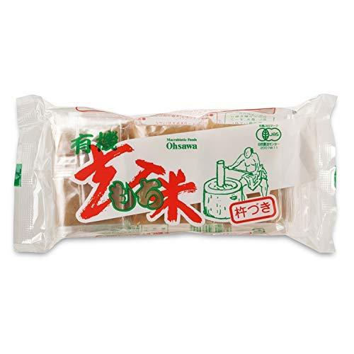 有機玄米もち 6個入り(300g) 10個セット