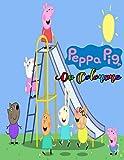 peppa pig Da Colorare: 50 illustrazione Un divertente libro da colorare per bambini e ragazzi (non ufficiale) | libro da colorare di alta ... e disegna con Peppa