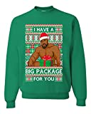 I have a Big package Meme Barry Wood Ugly Christmas...