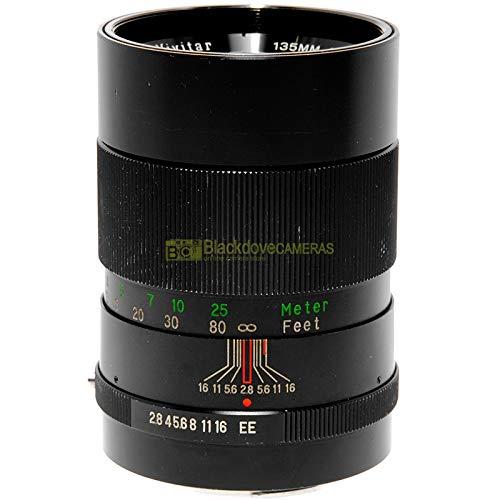 Lente Vivitar para coche Telephoto 135 mm f2,8 para cámaras de película Konica A