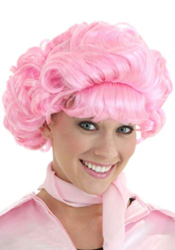 Fun Costumes Frenchie Grease Movie Pink Hair Wig - ST