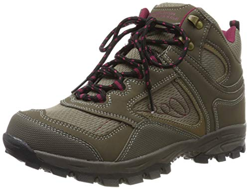 Mountain Warehouse McLeod Womens Hiking Boots - Ladies Walking Shoes Brown Womens Shoe Size 8 US