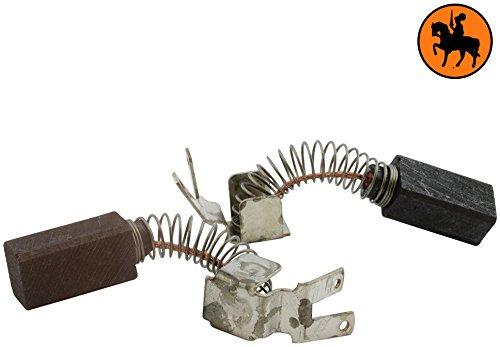 Buildalot Specialty koolborstels ca-17-17587 voor Metabo boormachine SBEK750/2-6,3x8x15mm - met automatische uitschakeling - vervanging voor originele onderdelen 316033640 & 34301118