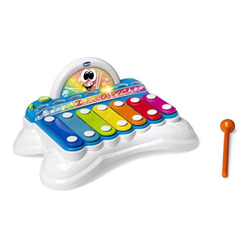 Chicco FLASCHY das Xylophon, Babys Musikspielzeug, Lernspielzeug Xylophon Babyspielzeug, ab 1 jahr