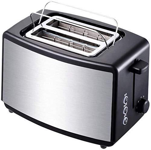 Máquina de pan, herramienta de la cocina Tostadora Rojo hogar automático de acero inoxidable ZHANGKANG