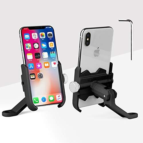 RMPH-Mobile Phone Holder mobiele telefoonhouder voor fiets, mountainbike, motorfiets, ondersteunt 360 graden beeldscherm, compatibel met iPhone Samsung, Huawei, Google, E