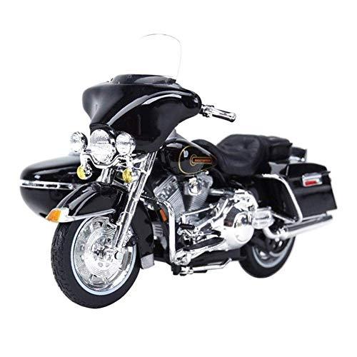 Yppss Modelo de la motocicleta del coche modelo 1:18 Harrell de tres ruedas de simulación del vehículo de aleación estática de la motocicleta del modelo del metal del juguete del coche eterno