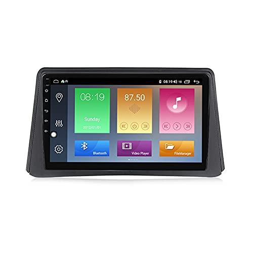 ADMLZQQ 2 Din Autoradio, Mit Navi Android 9'' Touchscreen WiFi Auto Info Plug & Play Volle RCA SWC Unterstützung Carautoplay/GPS/DAB+/OBDII Für Opel Mokka 1 2012-2016,M150