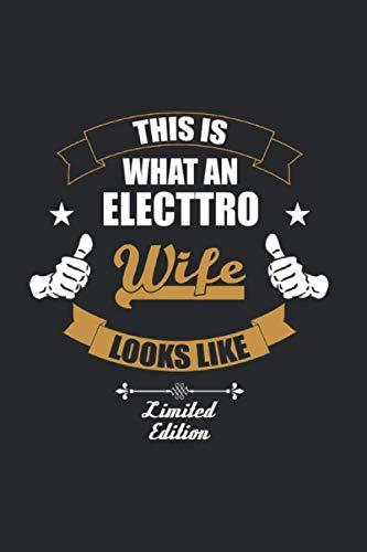 Dies ist eine Electro Ehefrau: Ruled Journal or Notebook (6x9 Inches) with...